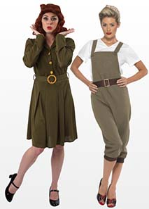 WW2 Fancy Dress Costumes For Ladies