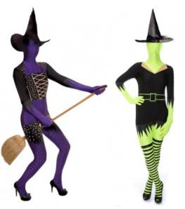 Witch Morphsuits For Ladies