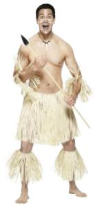 Zulu Warrior Fancy Dress Costume